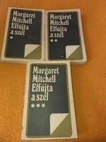 Margaret Mitchell: Elfújta a szél I-III.1976.1500.-Ft