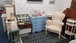 Provence barokk fotel