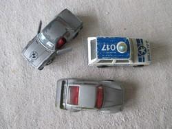 3 db Matchbox autó az 1970-80-as évekből