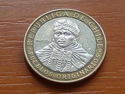 CHILE 100 PESOS 2012 BIMETÁL #