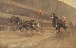 C. Bauer (?) jelzéssel : Galopp verseny
