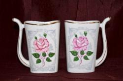 2 db rózsás kúra pohár ( DBZ 00115 )