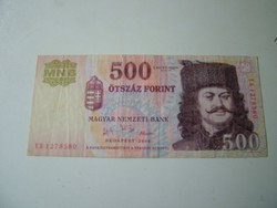 500 forint 2006