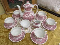 Angol 6 személyes teás készlet