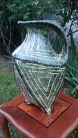 Gorka Géza stílusú nagy méretű érdekes formájú váza