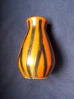 Retro Tófej váza - hibátlan, jelzett