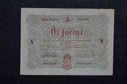 1848 5 forint. BARNA.