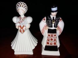 Makulátlan Herendi lakodalmas figura menyasszony, vőlegény