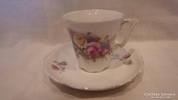 Régi porcelán csésze + alj