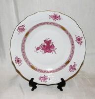 Herendi  Apponyi mintás tányér 20,5 cm