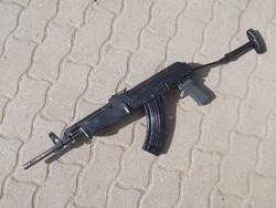 AMP 69 (AK47, AMP-69) géppisztoly, puska hatástalanítva