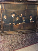 A posztós céh elöljárói :Rembrandt