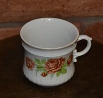 Pajzspecsétes Zsolnay rózsás teás csésze