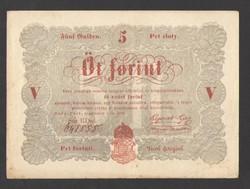 5 forint 1848.  EF!!  PIROS!!  GYÖNYÖRŰ!!
