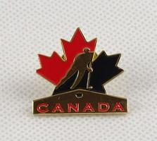 0W593 Kanadai jégkorong jéghoki kitűző