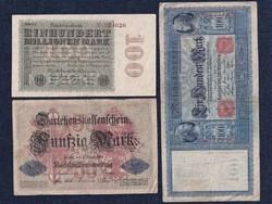3 db német márka/id 5682/