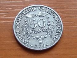 NYUGAT AFRIKA 50 FRANK FRANCS 2004 #