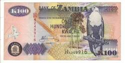 100 kwacha 2003 Zambia UNC