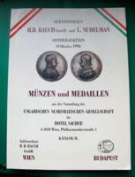 H.D. Rauch/L. Nudelman 58. Münz-auktion-1996. okt. 29.- Münzen und Medaillen -árverési katalógus II.