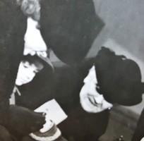 EREDETI JELZETT SAJTÓ FOTÓ FÉNYKÉP HORTHY MIKLÓS + FELESÉG - UNOKA - MENY 1943 TÖRTÉNELEM DOKUMENTUM