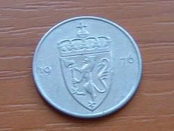 NORVÉGIA 50 ŐRE 1976