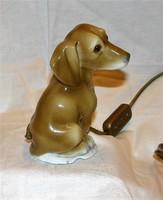 Tacskó porcelán asztali lámpa hangulatlámpa