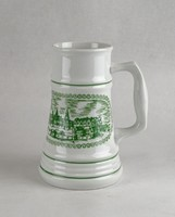 0W605 Jelzett Alföldi porcelán söröskorsó SOPRON