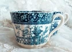 Antik angol fajansz teás csésze