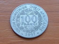 NYUGAT AFRIKA 100 FRANK FRANCS 1997