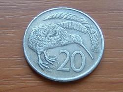 ÚJ-ZÉLAND NEW ZEALAND 20 CENT 1982 KIWI MADÁR