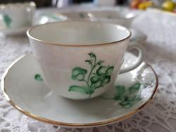 Herendi ZV mintás kávés csésze