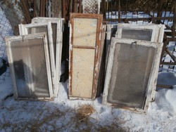 Vintage ablakok