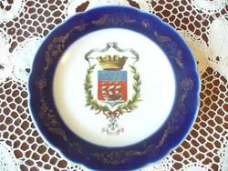 ALTWIENI kis tányér párizsi címerrel