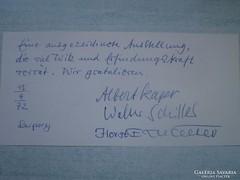 Albert Kapr, Walter Schiller, Horst Eric Wolter