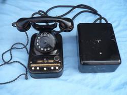-----Régi Siemens W38 bakelit telefon!1937/38----