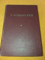 A Rákosi-per 1950.500.-Ft