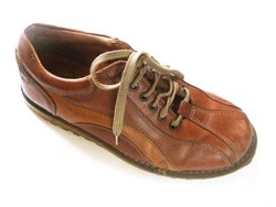 Frank Walker cipő, original U. S. design nubuk bőrcipő, túracipő