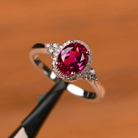 Ezüst gyűrű pink   cirkón kővel AKCIÓ !!