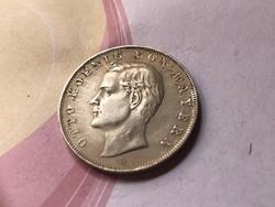 1911 bajor ezüst 3 márka 16,67 gramm 0,900 ritka