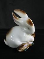 Zsolnay porcelán nyúl nyuszi
