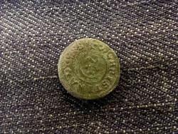 Svéd Livonia (Riga megszállása) - Krisztina királynő ezüst 1 Soldius 16??/id 8162/