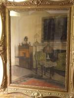 Koszkol Jenő pasztell kép