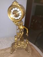 Antik   kandalló   óra  szerkezettel   60 cm  magas    13000  ft
