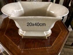 Antik pompa- Porcelán kínáló