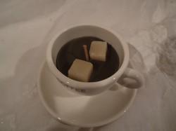 Porcelán - 2 db kis porcelán csésze - illatgyertya - 8 x 5 cm   900 Ft - hibátlan