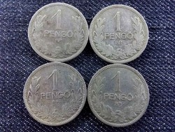 4 db ezüst 1 Pengő 1926-1927/id 7244/