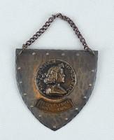 0W642 Mátyás Pince bronz tábla 1904-1974