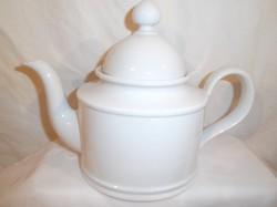 Porcelán - kávéskanna - Seltmann Weiden - 1,2 l, -  hófehér - újszerű -  hibátlan