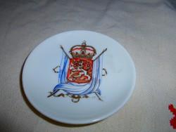 FINDLAND Címeres  porcelán tálka