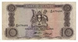 10 shilling 1966 Uganda